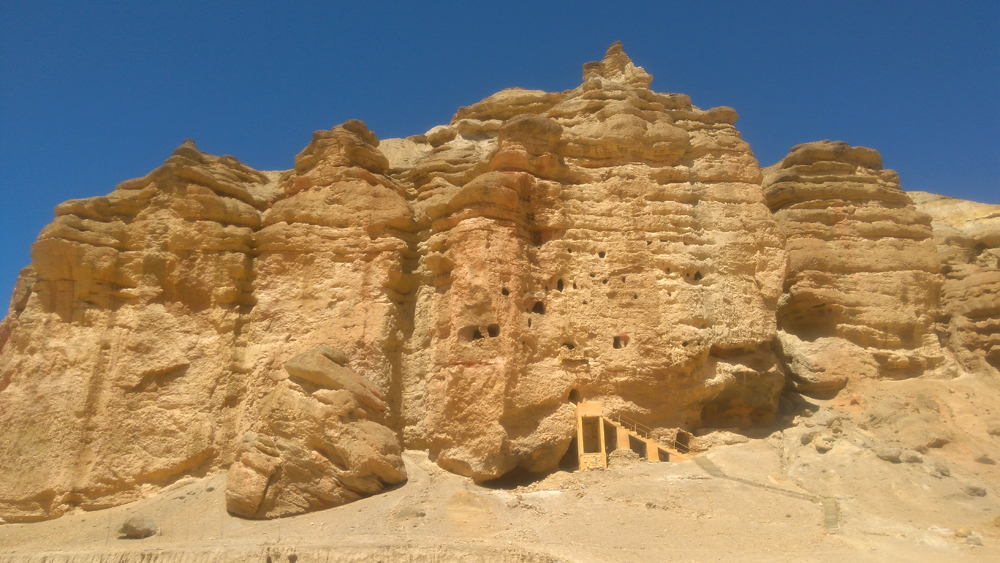 Mustang Cave Area